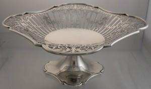 Sterling Silver Tazza, c1923, John Round & Son Ltd, Sheffield, England