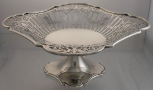 Sterling Silver Tazza, c1923, John Round & Son Ltd, Sheffield, England